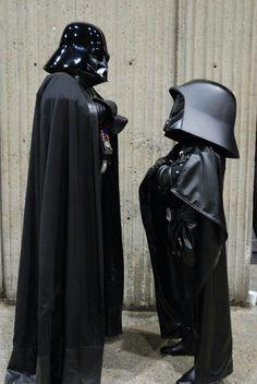Vader vs. Dark Helmet