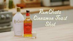 Rum Chata Cinnamon Toast Shot (1 part each)
