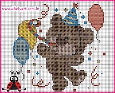 Cross Stitch Boards, Cute Cross Stitch, Perler Beads, Cross Stitching, Cross Stitch Patterns, Safari, Diy And Crafts, Kids Room, Art Gallery