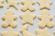 This recipe makes PERFECT sugar cookies! They're delicious both with and without icing, they keep their shape and they have perfect edges every single time!