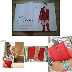 O vermelho é tendência!! Confira em nossa loja online ww.libel4.com