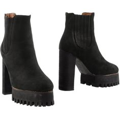 Jeffrey Campbell Ankle Boots (2.633.400 IDR) ❤ liked on Polyvore