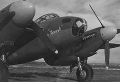"""DH Mosquito - """"The Spook"""", USAAC."""