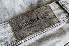 Today we have Jeans label free mockup, a sample from a premium pack of mockups called 7 Jeans and Pants Label Mockups