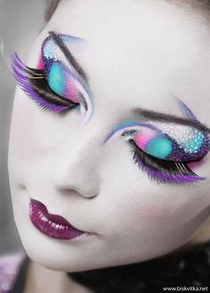Crazy Makeup Art » Biskvitka.net