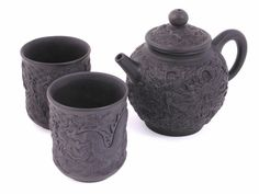 Seafaring Dragons Yixing Tea Set
