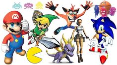 classic game characters - Google Search
