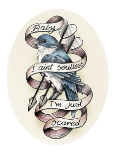 Change script to you're the yellow bird that I've been waitin for and the bird to a yellow bird! Oh man might be my final choice for a yellow bird tattoo