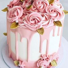 25 Amazing, Cool & Beautiful Birthday Cakes : Page 9 of 24 : Creative Vision Design - Trend Pretty Cakes 2019 Creative Birthday Cakes, Pink Birthday Cakes, Beautiful Birthday Cakes, Gorgeous Cakes, Creative Cakes, Amazing Cakes, Girl Birthday, Male Birthday, Drip Cakes