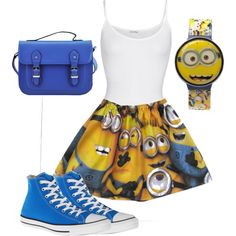 Despicable Me Outfit- I want this skirt!
