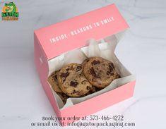 Cake Boxes Packaging, Brownie Packaging, Baking Packaging, Bread Packaging, Dessert Packaging, Food Packaging Design, Packaging For Cookies, Cookies Branding, Bakery Branding