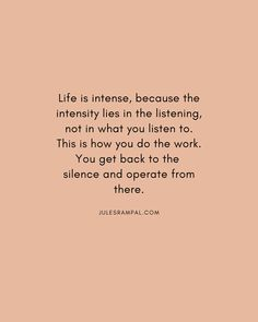 How meditation makes your life intense? By changing the way you experience things Get Back, Meditation, Make It Yourself, Life, Zen