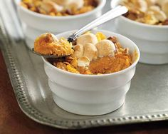 Cinnamon Pecan Sweet Potato Casserole | Cinnamon Pecan Sweet Potato Casserole Recipe - A roasted sweet potato side dish that is delicious and easy to prepare for all occasions or family gatherings. #Schwans #EasyRecipes #Inspiration