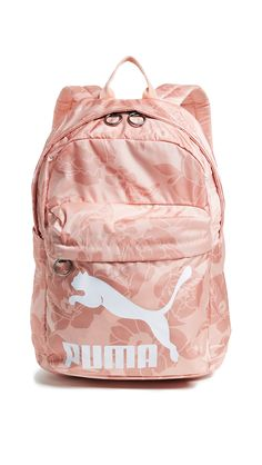 PUMA ORIGINALS BACKPACK. #puma #bags #nylon #backpacks #