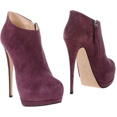 Giuseppe Zanotti Design Shoe Boots ($495) ❤ liked on Polyvore featuring shoes, boots, ankle booties, mauve, genuine leather boots, zip boots, round cap, spike heel boots and giuseppe zanotti booties