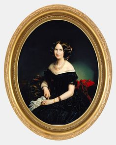 Portrait of the Baroness of Weisweiller (1853) - Federico de Madrazo y Kuntz | Flickr - Photo Sharing!