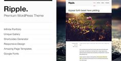 Ripple - Premium WordPress Theme