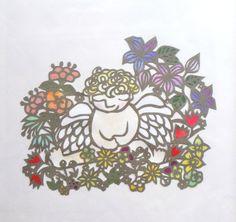 天使 Angel and birds
