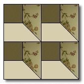 Attic windows, love the illusions of quilt patterns. It is like a puzzle for the mind.