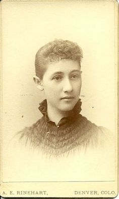 Mystery Photos from an Antique store:  Nellie Wybro, Please help me find her descendants!
