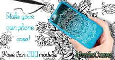 PERSONALIZE YOUR CELL PHONE CASE! MORE THAN 200 MODELS! _____ www.UnikCase.com _____ #Canada #art #Promo #Creation #UnikCase #Etui  #Cellulaire #Phone #Case #Unique #Unik #mandala #draw #drawing #black #white #blue #pen #paper #typo #hand #imagination #creation #Android #Amazone #Google #iPhone #Samsung #Blackberry #iPad #Nokia #Nexus #Htc #huawei  #LG #Motog #Motoe #Motox #Motorola #Sony #Xperia