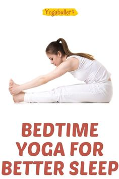 Are you looking for a relaxing bedtime yoga sequence for better sleep? Fall asleep easier with these relaxing nighttime yoga poses! Yin Yoga Poses, Easy Yoga Poses, Beginning Yoga Poses, Back Yoga Stretches, Night Time Yoga, Basic Yoga For Beginners, Hip Opening Yoga, Stress Yoga, Bedtime Yoga