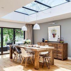 Fenêtre de toit : inspiration verrière et puits de lumière - Côté Maison
