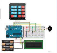 Control de acceso con clave alfa numérica con arduino