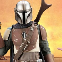 Sideshow and Kotobukiya present The Mandalorian Scale ARTFX+ Statue! From the television series The Mandalorian comes the latest addition to the ARTFX+ series! This statue is scale and perfectly resembles the fine details in the tel Marvel Statues, The Originals 3, Spring Into Action, Ghostbusters, Mandalorian, Iron Man, Star Wars, Wonder Woman, Stars