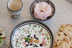 Das Rezept für diese köstliche persische kalte Joghurtsuppe  findest du auf <3 Labsalliebe