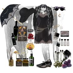 """""""Summer Witch"""" by morbid-octobur on Polyvore"""