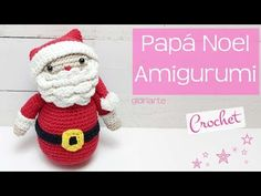 - Juguetes a crochet - Christmas Diy, Merry Christmas, Sewing Patterns, Crochet Hats, Santa, Crafts, Pop Tabs, Goku, Color