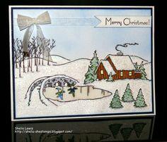 DRS Designs Rubber Stamps: Christmas Village