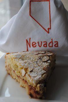 Sweet State of Mine: Nevada - Basque Cake with Cherry Preserves Basque Cake, Basque Food, No Bake Treats, Yummy Treats, Sweet Treats, Just Desserts, Delicious Desserts, Baking Recipes, Cake Recipes