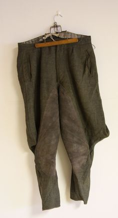 #original #military style #breeches for #gentlemen from #30s by #salonmody