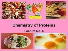 chemistry-of-proteins by Jhon Mar Bellos via Slideshare Organic Molecules, Chemistry, Protein, Breakfast, Food, Reading, Morning Coffee, Essen, Meals