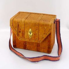 traditional birch bark case/bag from the north of sweden