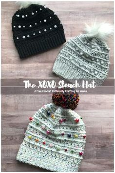 c28e0ecc962 Hats · The XOXO Slouch Hat  A Free Crochet Pattern - Crafting for Weeks Slouch  Hat Knit