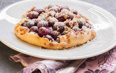 Tarte: Kirschen mit Marzipan - Lunch For One