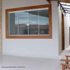 Resultado de imagem para janelas madeira e blindex
