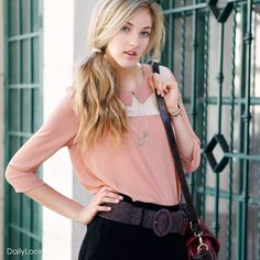 DailyLook: Another Rose Bites The Dust >> Cute top!