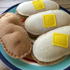 felt food baked potato listing price is for 1 potato made from ecofelt, embroidery floss, polyester thread and polyester fiberfil. this cute little felt food baked potato is a fun, recognizable addition to your childs play kitchen or play restaurant. it is realistic looking with its
