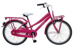 Kinderfiets Volare Liberty Urban 24 inch Roze