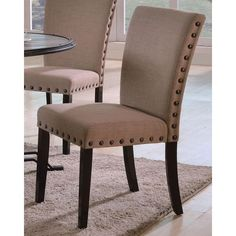 """Wyatt"" Brushed Side Chair  $150.00"