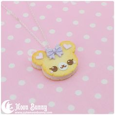 Cookie bear necklace