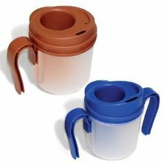 """Provale Cup 10cc - Use for dysphagia, stroke, or other swallowing disorders by Provale. $46.93. Measures 10cc or 2 teaspoons of liquid each time the cup is tilted towards the mouth. Provale Cup ensures small, measured swallows as is required for patients who have difficulty swallowing due to Dysphagia, Stroke, or other swallowing disorders. The design of the Provale Cup includes easy-to-use handles for patient control, a """"cup in a cup"""" design that allows for proper nose clearance..."""