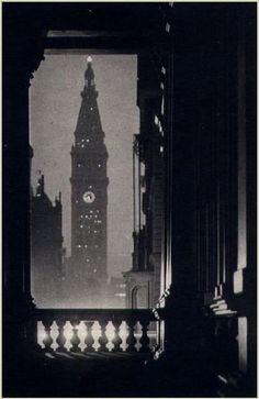 Karl Struss - Metropolitan Life Insurance Tower, New York, 1909.