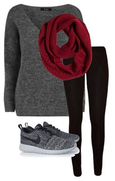 """""""Leggings!"""" by annakathrynwillis on Polyvore featuring VILA, prAna and NIKE"""