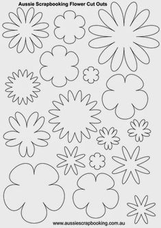 Best 11 Flower power is in again with this printable flower power headband designed by the freekidscrafts team go retro and have a – SkillOfKing. Shape Templates, Leaf Template, Flower Template, Handmade Flowers, Diy Flowers, Fabric Flowers, Paper Flowers, Felt Crafts, Paper Crafts