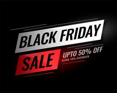 Black friday sale banner with discount details Free Vector Black Friday Shirts, Best Black Friday, Vintage Grunge, Banner Vertical, Black Friday Laptop Deals, Banners, Free Banner, Vector Free Download, Free Black